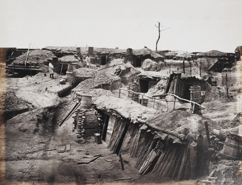 Quarters of Men in Fort Sedgewick, generally known as Fort Hell